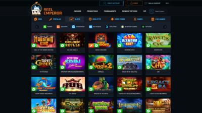 Надежное онлайн казино на гривны Укрказино Рил Эмперор