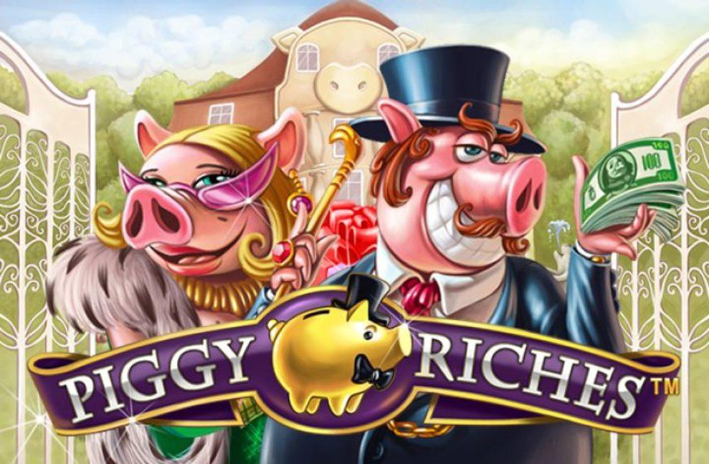 Играть в слоты NetEnt онлайн Укрказино Piggy Riches NetEnt