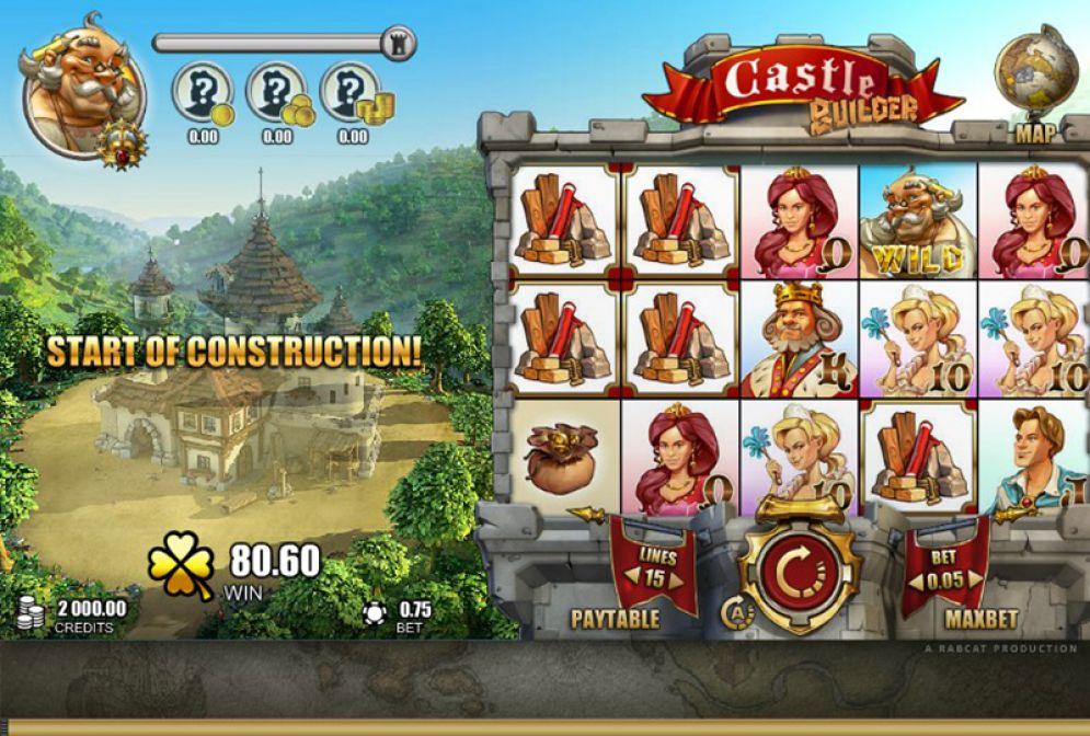 Играть в казино на гривны онлайн Укрказино Castle Builder
