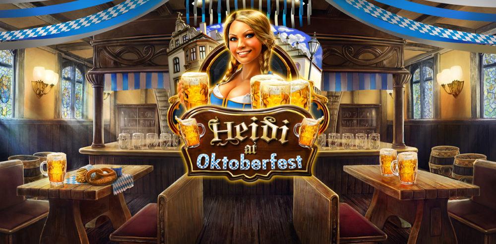 Heidi at Oktoberfest онлайн игра от провайдера Red Rake Gaming
