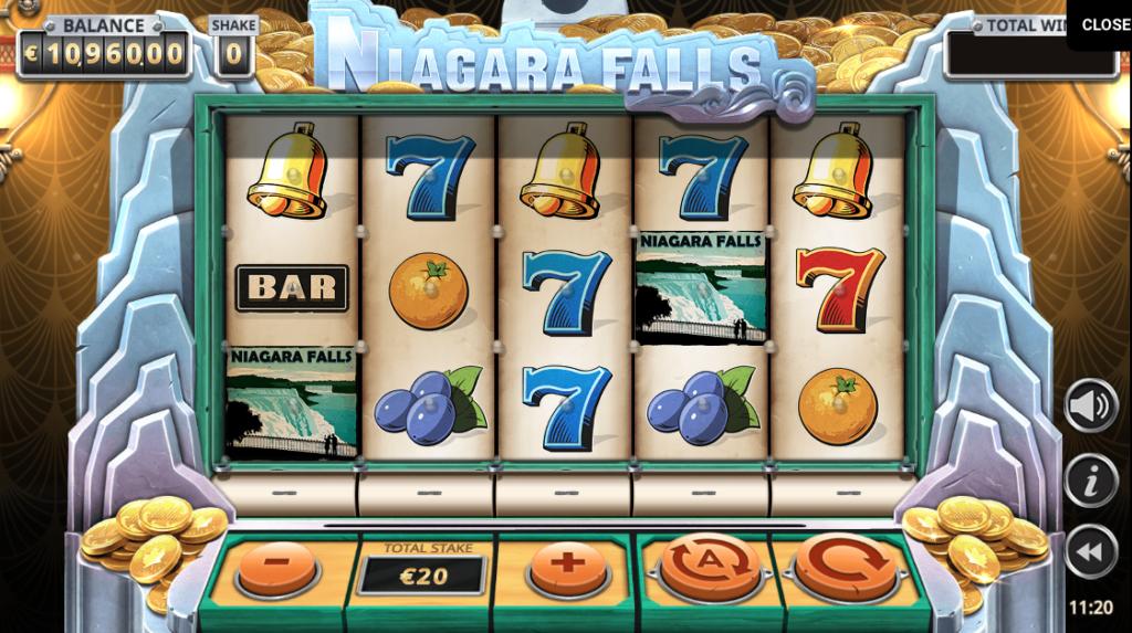 Niagara Falls Slot Yggdrasil 1 1 1024x573