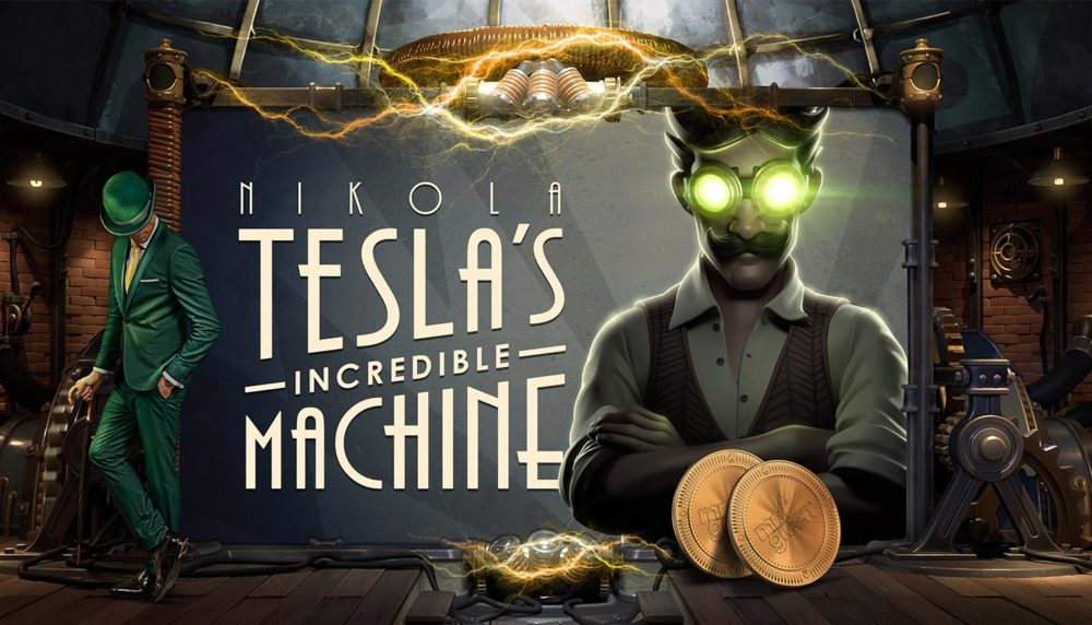 Играть в слоты Yggdrasil приватбанк Укрказино Nikola Tesla's Incredible Machine