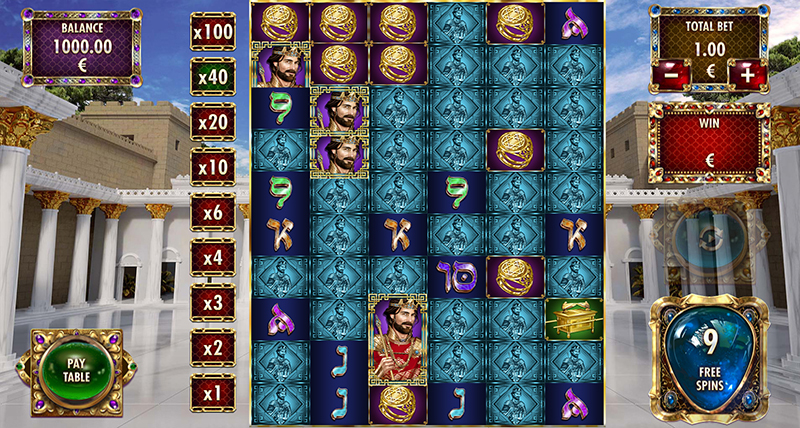 Solomon The King Free Spins Feature