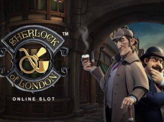 Играть онлайн в видеослот Sherlock of London