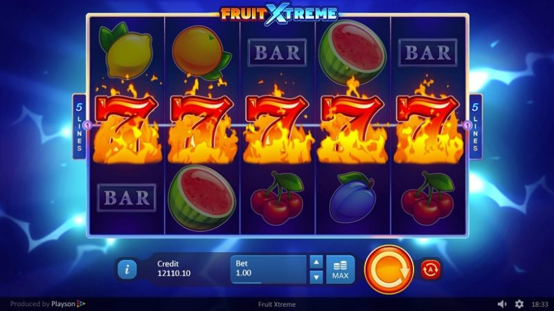 Играть в слот Fruit Xtreme онлайн на гривны