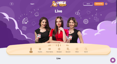 Играть в Cookie Casino онлайн Ukrcasino
