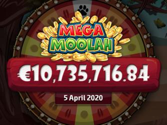 Mega Moolah от Microgaming получает джекпот в размере 10,7 миллионов евро