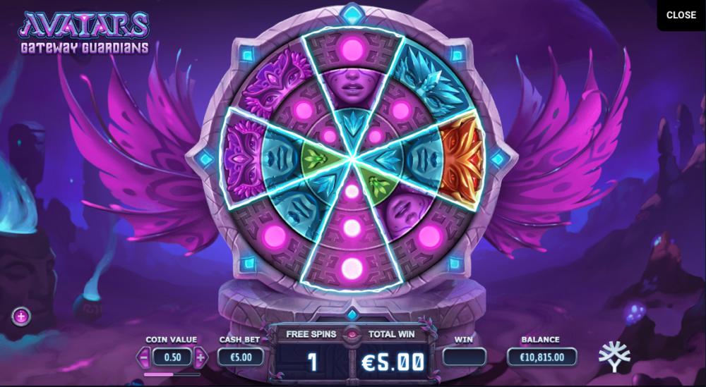 Играть в Avatars: Gateway Guardians от компании Yggdrasil онлайн с Ukrcasino