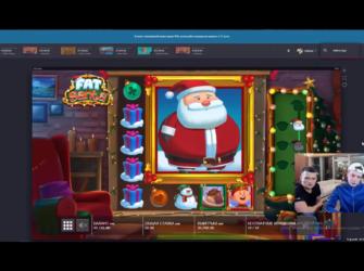 MellStroy обнулил ТТР КАЗИНО в слоте Fat Santa