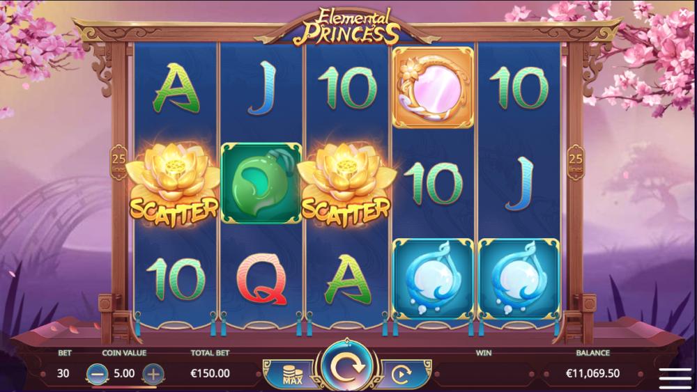 Играть в слот Elemental Princess с Ukrcasino