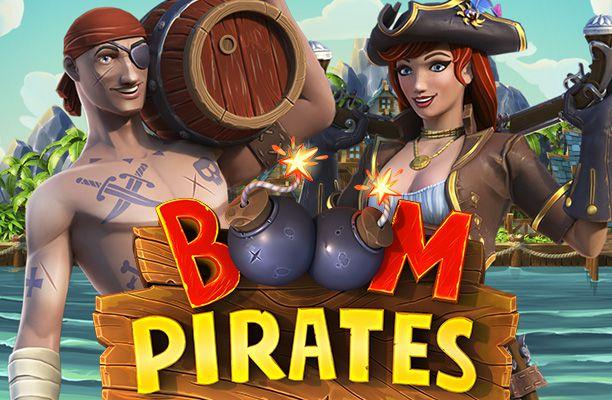 Играть в Boom Pirates онлайн на гривны с Ukrcasino