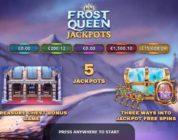 Frost Queen Jackpots - новейший прогрессивный Джекпот, добавленный в портфолио Yggdrasil