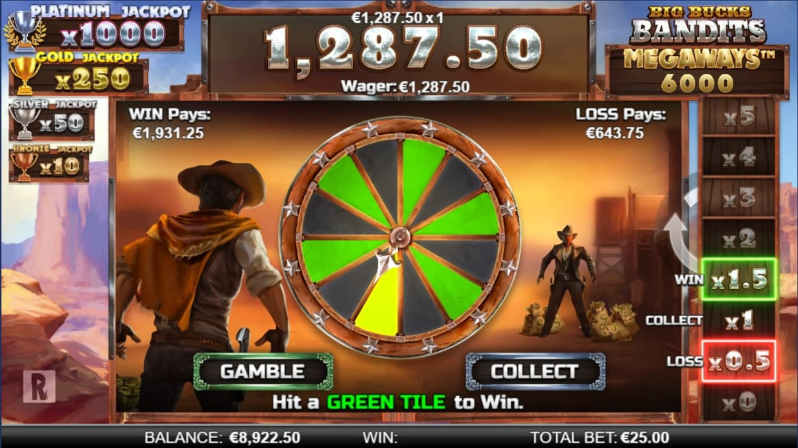 Играть в Big Bucks Bandits Megaways онлайн на гривны с Ukrcasino