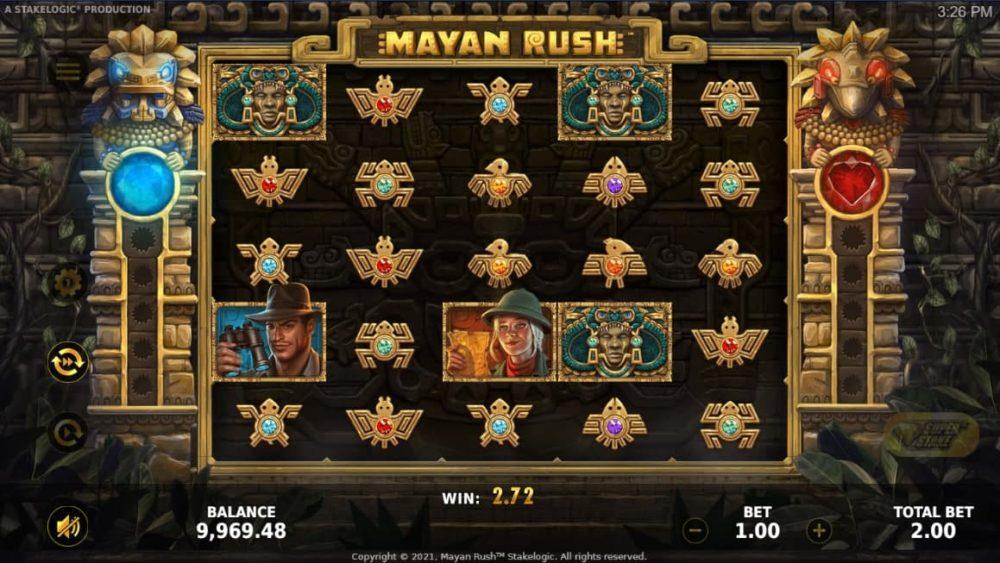 Mayan Rush играть онлайн на гривны с Ukrcasino