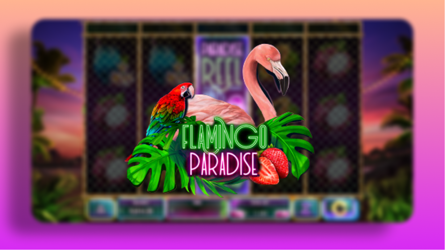 Видео-слот Flamingo Paradise - Red Rake