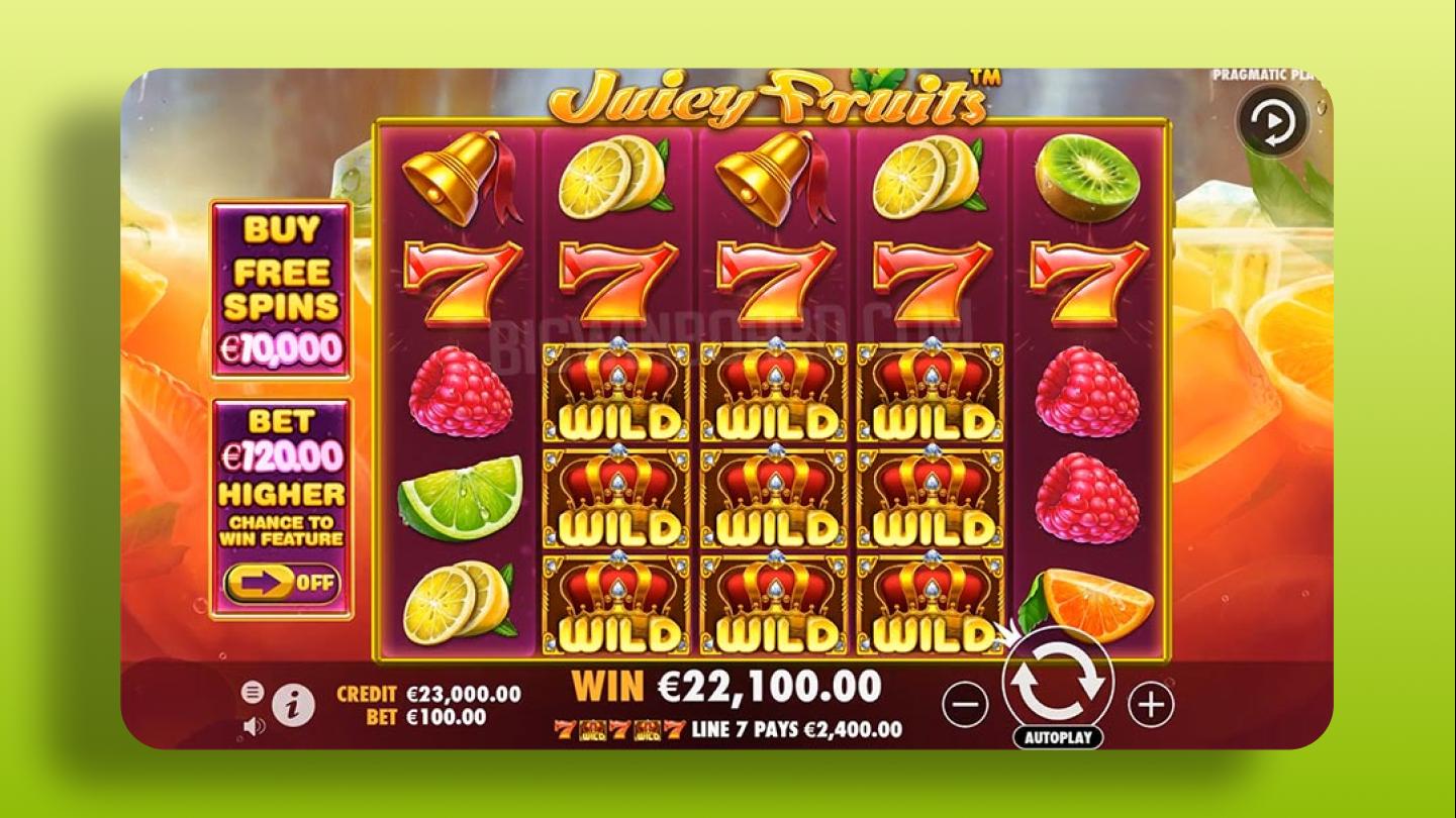 Juicy Fruits - Pragmatic Play