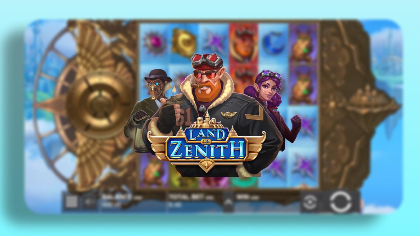 Играть в Land of Zenith от Push Gaming онлайн на гривны с Ukrcasino