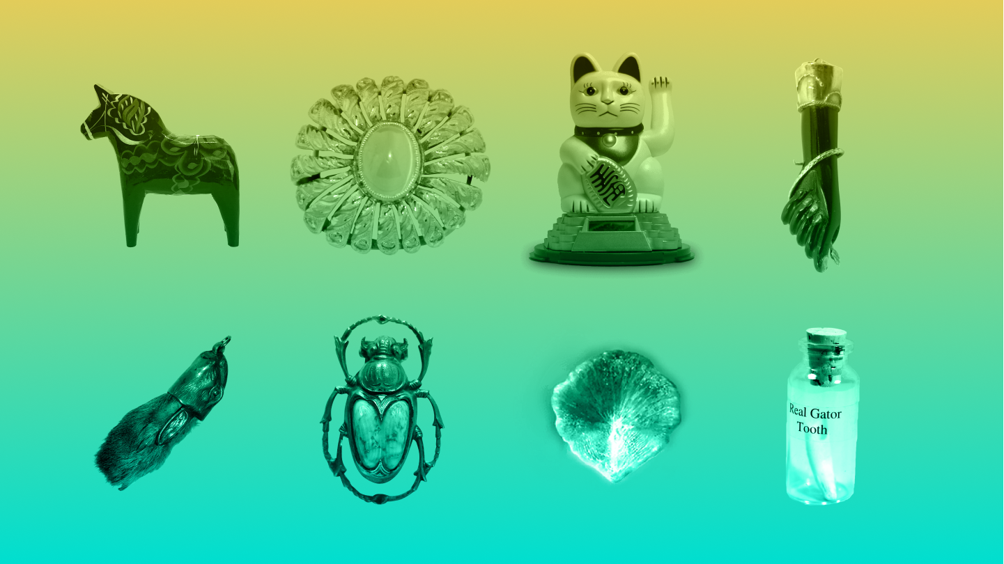Символы на удачу в азартных играх
