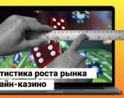 Статистика роста рынка онлайн-казино