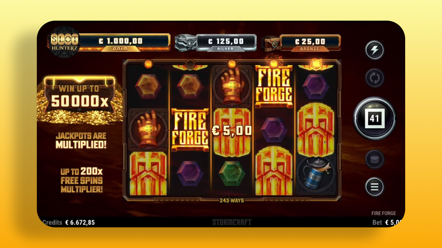 Fire Forge - Microgaming