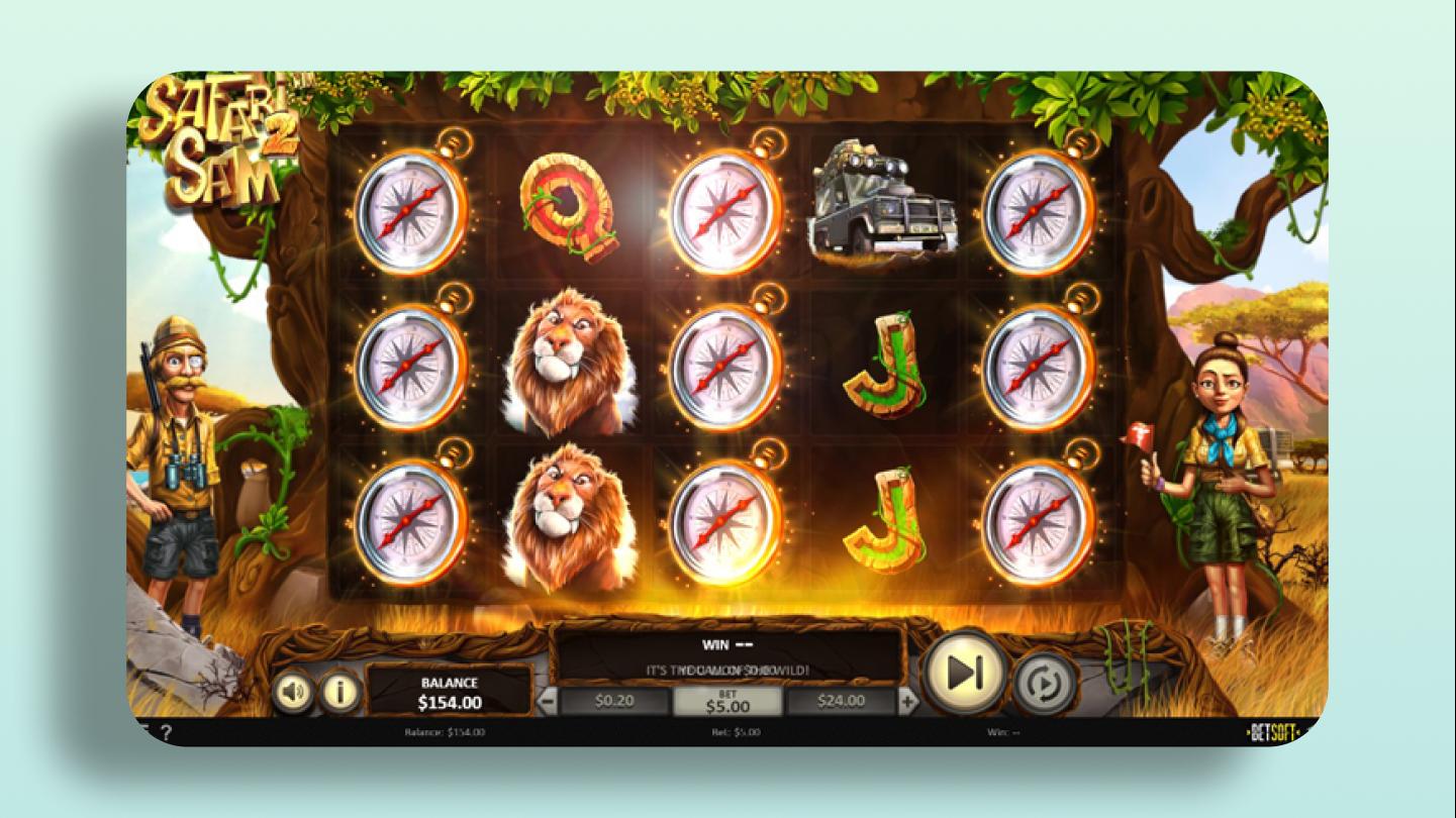 Safari Sam 2 - BetSoft