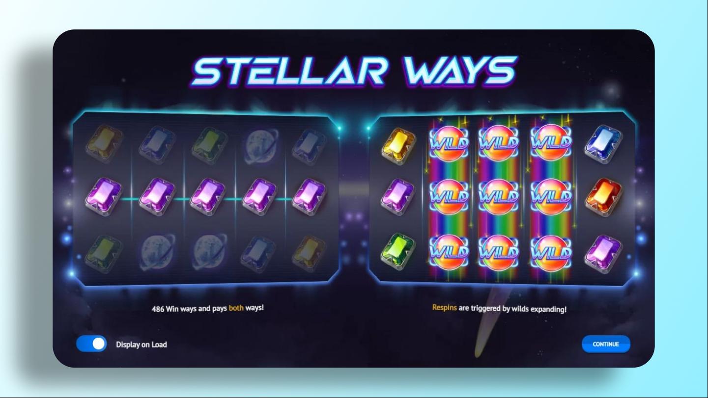 Слот Stellar Ways - 1x2 Gaming