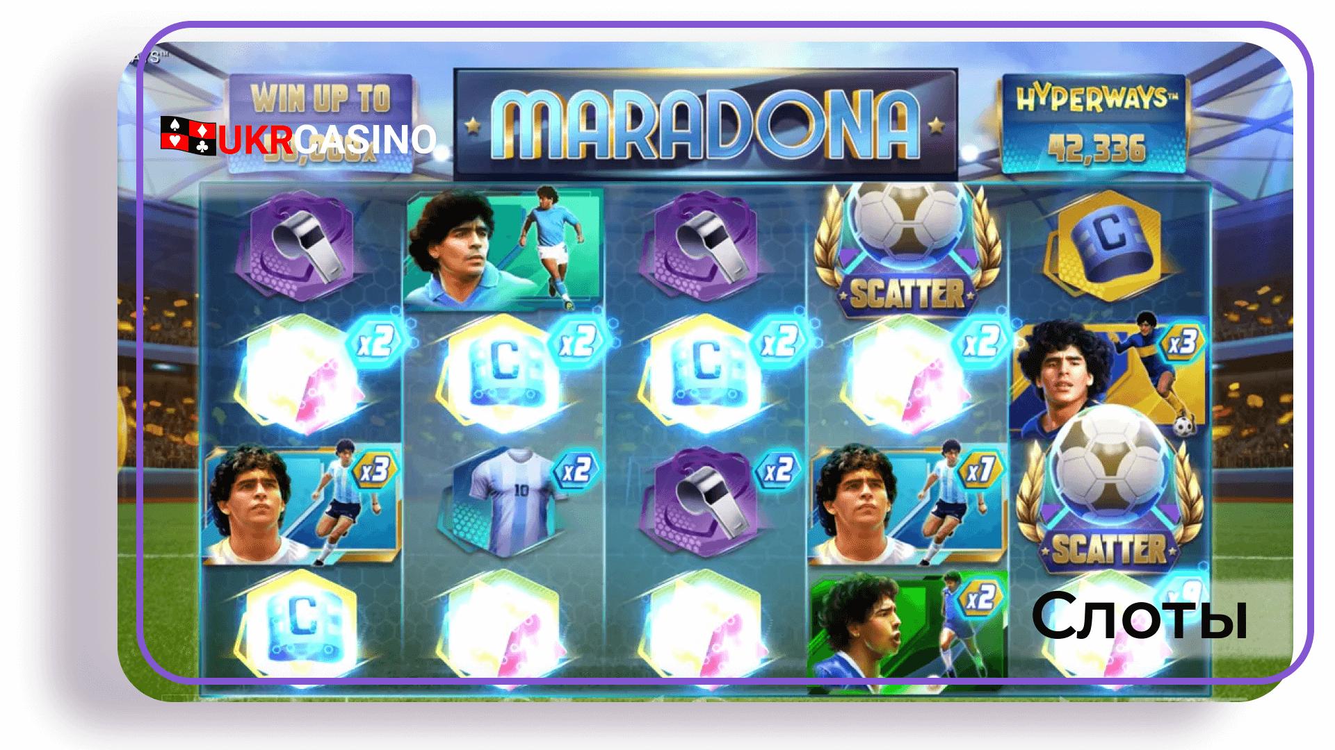 Maradona Hyperways - GameArt
